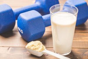 タンパク質を摂って筋肉作り